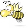 blue bumblebee